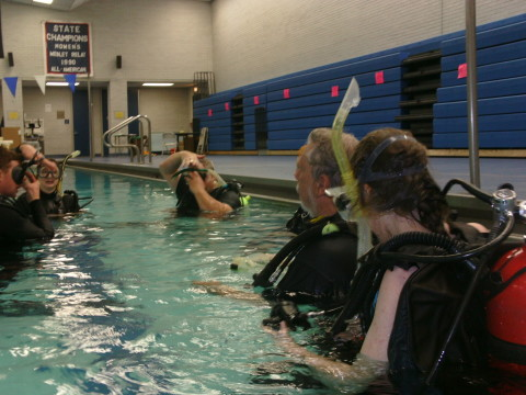 Scuba BSA WNY provides all of the training equipment for the scouts and their families that are in the Scuba BSA WNY program.